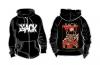 Szarvas hoodie/zip